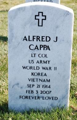LTC Alfred J Cappa