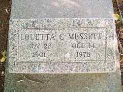 Louetta <I>Clary</I> Messett