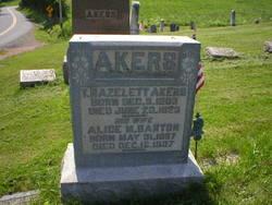 Alice Mary <I>Barton</I> Akers