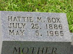 Hattie M. Box