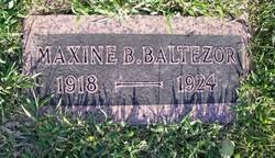 Maxine B. Baltezor