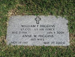 Anne W Higgins