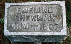 Emeline B <I>Hamilton</I> Sherman