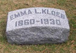 Emma L <I>LeBlond</I> Kloeb