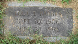 Anna Lola <I>Tipton</I> Barbra