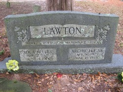 Archie Lee Lawton, Sr
