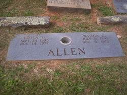 Leola <I>Dixon</I> Allen