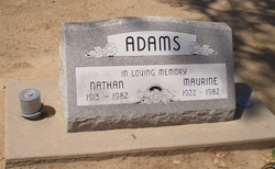 Maurine Allie <I>Irwin</I> Adams
