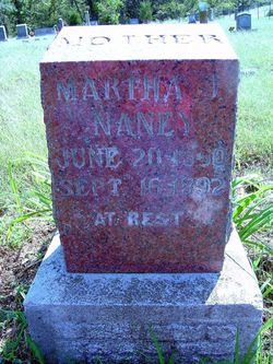 Martha Jane <I>House</I> Naney