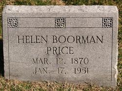 """Lucy Helen McLean """"Helen"""" <I>Boorman</I> Price"""