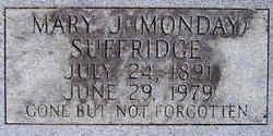 Mary Jane <I>Monday</I> Suffridge