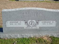 Johnnie Cecil Etier