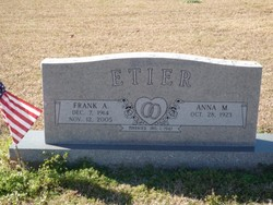 Anna Mae <I>Price</I> Etier
