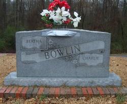 Bertha <I>Davis</I> Bowlin