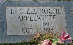 Lucille <I>Roche</I> Applewhite
