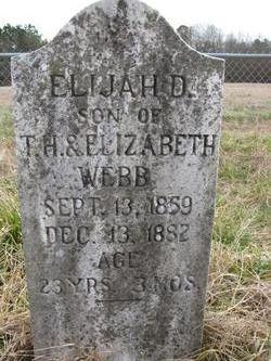 Elijah D. Webb