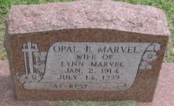 Opal P <I>Bailey</I> Marvel