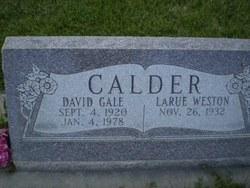 David Gale Calder