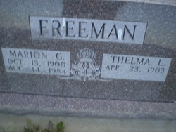 Thelma <I>Langford</I> Freeman