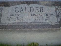 Iola <I>Brooker</I> Calder