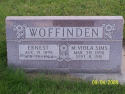 Mary Viola <I>Sims</I> Woffinden