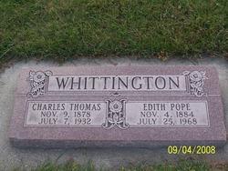 Edith <I>Pope</I> Whittington