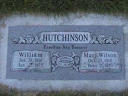 Mary <I>Wilson</I> Hutchinson