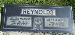Augusta Alfreda. <I>Matson</I> Reynolds