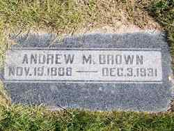 Andrew M Brown
