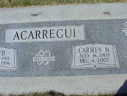 Carmen Marie <I>Elordi</I> Acarregui