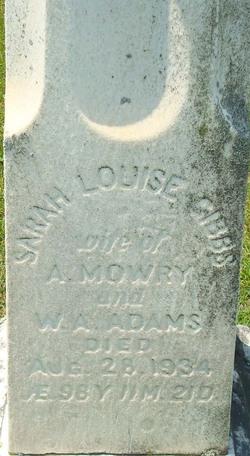 Sarah Louise Adams