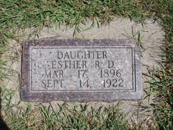 Esther R. D. <I>Magley</I> Christianson