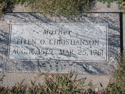 Ellen Otelia <I>Dahlberg</I> Christianson