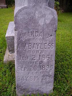 Amanda M <I>Snider</I> Bayless
