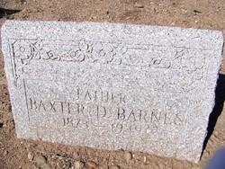 Baxter Dennis Barnes
