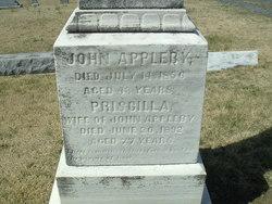 Priscilla M. <I>Montague</I> Appleby