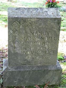 Nancy <I>Massengill</I> Crowe