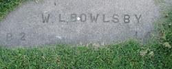 "W. L. ""Babe"" Bowlsby"