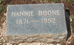 Mrs Nancy Nannie <I>Woodward</I> Boone