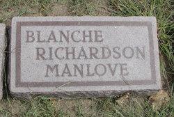 Blanche <I>Richardson</I> Manlove