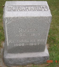 """Ruprecht """"Reuben"""" Burkhardt"""