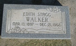 Edith Eliza <I>Stagg</I> Walker