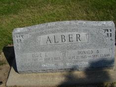 Elsie I. <I>Heitz</I> Alber
