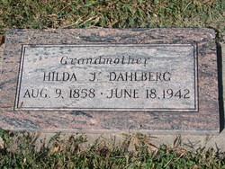 Hilda Josephine <I>Johnson</I> Dahlberg