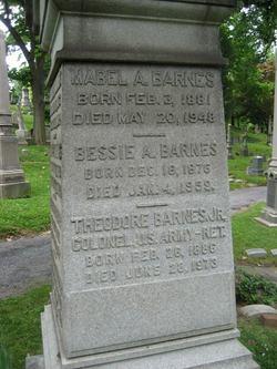 Col Theodore Barnes, Jr