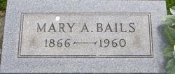 Mary A <I>Pendleton</I> Bails