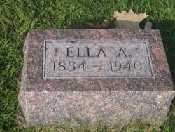 "Ellen Amelia ""Ella"" <I>Gamber</I> White"
