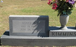 Agnes May <I>Higley</I> Kimmins