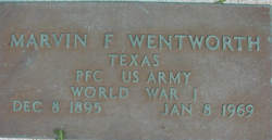 Marvin F Wentworth