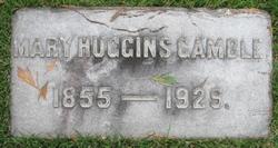 Mary <I>Huggins</I> Gamble